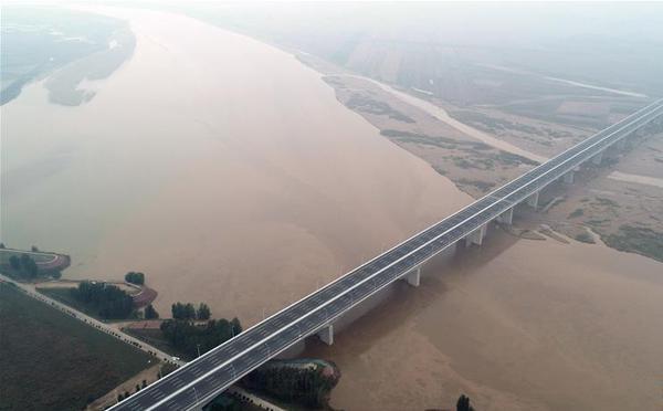 国道107河南官渡黄河大桥正式通车