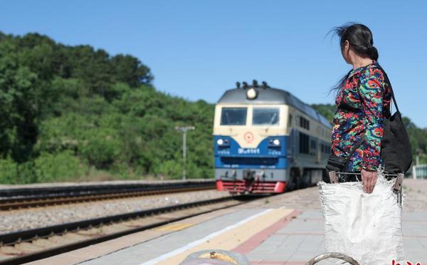 京承铁路线上的慢火车