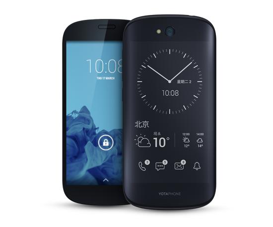 酷派与YotaPhone建合资企业 生产双屏手机-