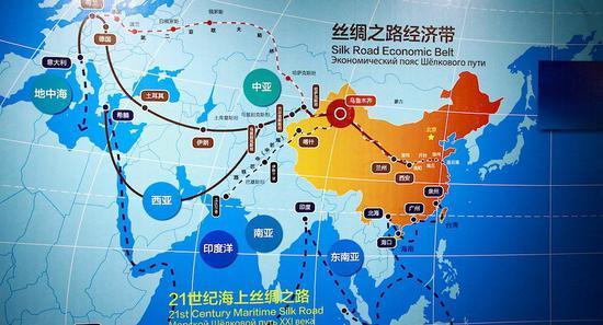 央企参与 一带一路 沿线国家近2千项目建设|一