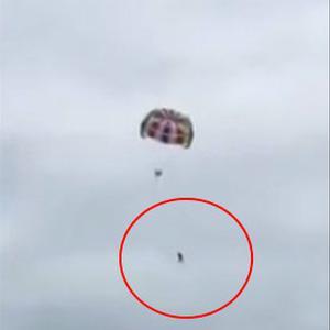 【澳洲商人普吉岛玩滑翔伞