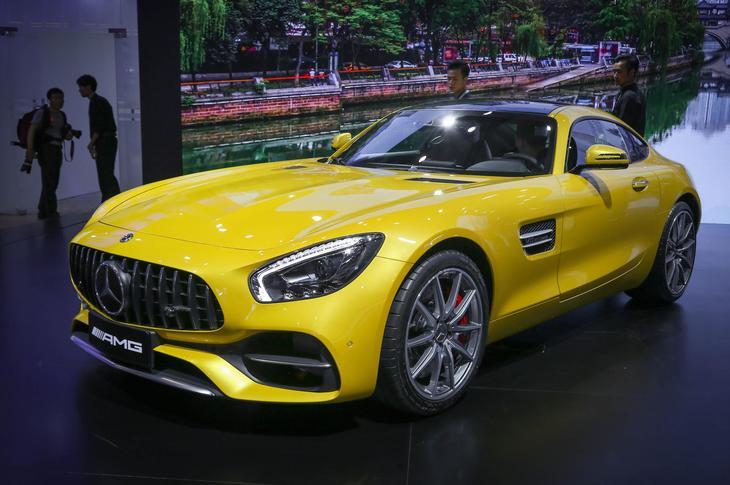 成都车展新车抢先看 新款AMG GT系列上市