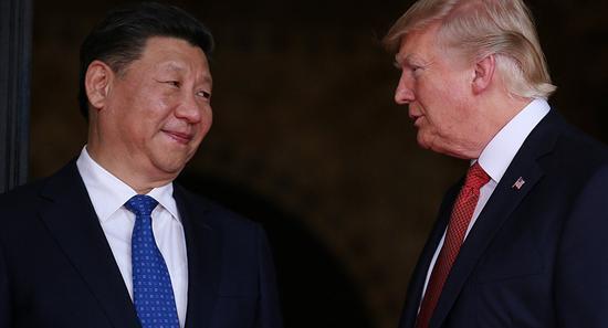特朗普领导的美国正把全球领袖的角色让给中国