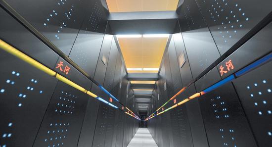 天河二号将换国产芯 运算速度将提升两倍