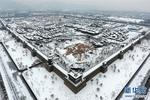 雪后太原古县城 美景如画