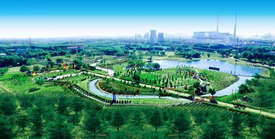 大庆油田启动碳中和林二期建设