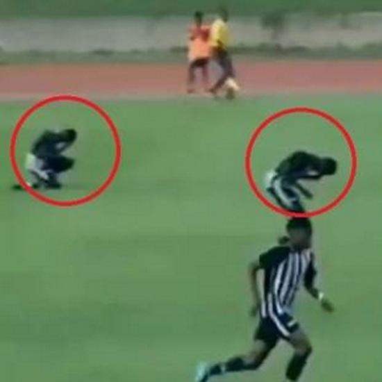 牙买加4名大学生运动员被闪电击中 2人瞬间跪地