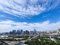 藍天白云大運河,俯瞰北京城市副中心,美不勝收!