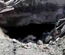 也门亚丁机场爆炸现场