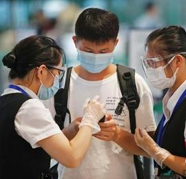 上海机场、火车站防疫管控升级