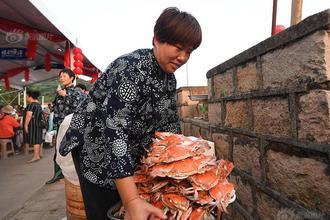 浙江宁波渔民举办千人庆丰宴