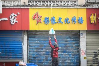 武汉市民牵绳吊菜入门