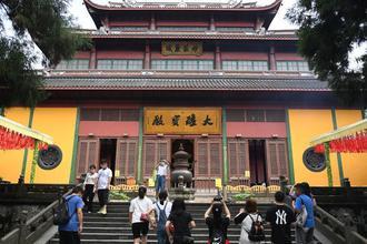 古刹杭州灵隐寺有序恢复开放