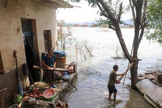 安徽巢湖:灾后重建有序进行