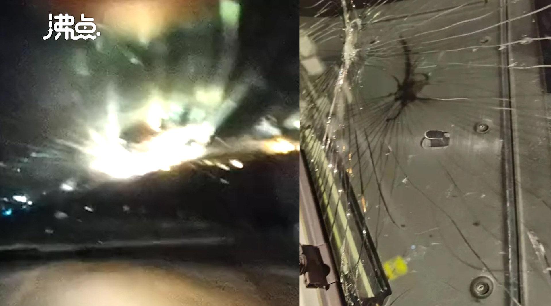 江西航空客机玻璃万米高空破裂 副驾驶拍下惊险瞬间