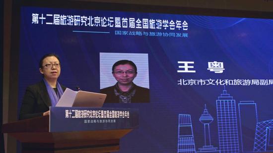 北京市文化和旅游局副局长 王粤
