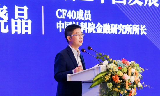 """社科院金融研究所张晓晶:西部不是""""备胎"""" 其后发"""