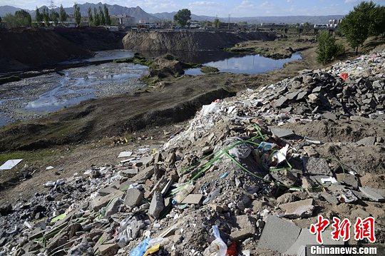 资料图:建筑垃圾。刘文华 摄