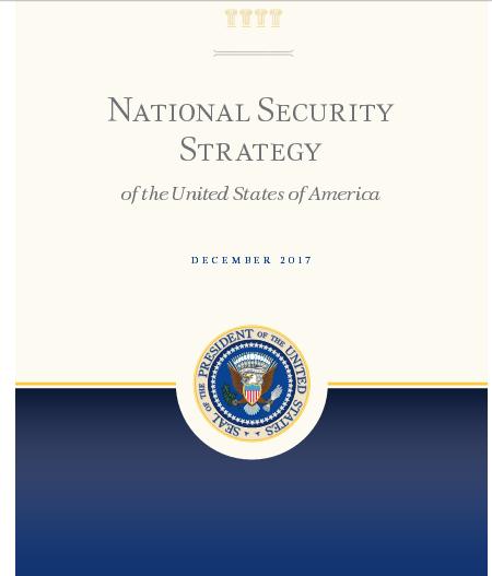 """【美国家安全战略报告】美国家安全报告提及中国33次:中国成""""战略竞争者"""""""