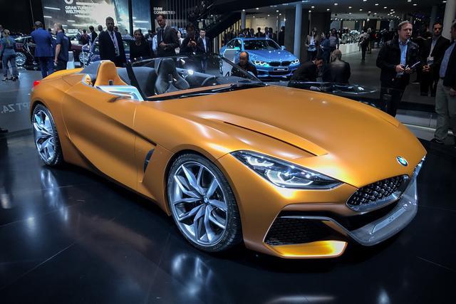 图集|宝马史上最激进的设计 全新BMW Z4
