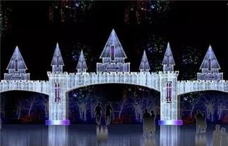 敦化国际冰雪灯光节