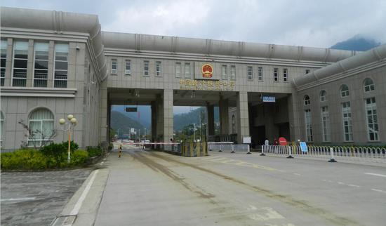 腾冲猴桥口岸