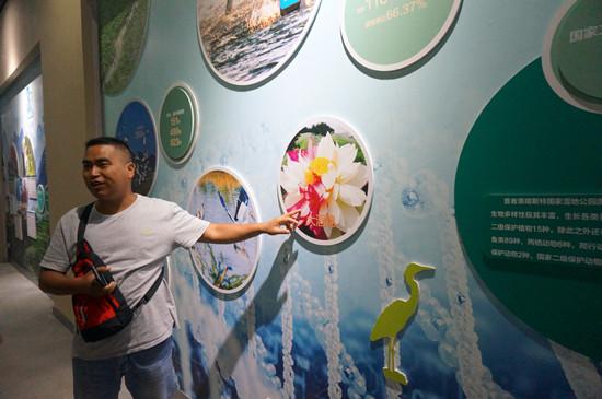 标本模型及图文展板的宣教方式,对普者黑喀斯特国家湿地公园的生态