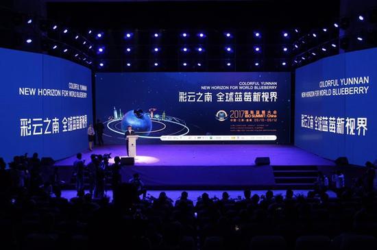 2017国际蓝莓大会在曲靖开幕