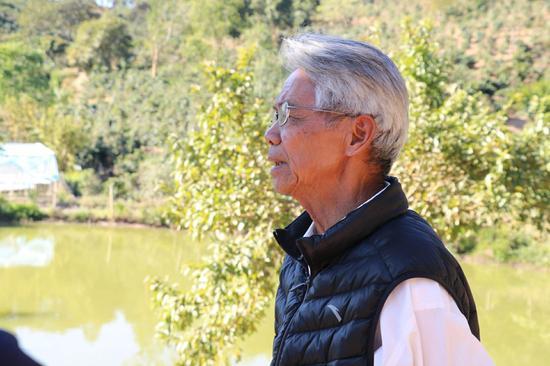 77岁的廖秀桂先生 李晓超/摄