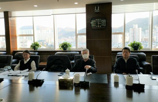 辽宁省法院执行局李应天庭长到大连海事法院督导执行工作