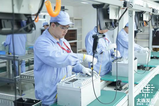 中车大连电力牵引研发中心有限公司智能装配线