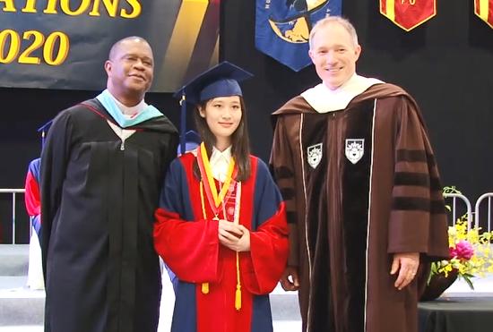 DAIS优秀毕业生Gina