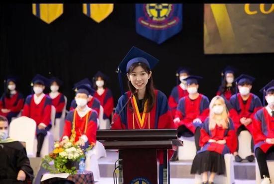 DHA优秀毕业生陈雅荷
