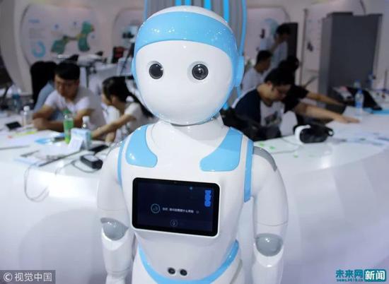 人工智能编程教育走进天津校园。(资料图/视觉中国)