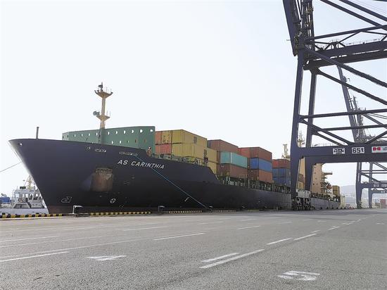 大连港新增远东直航航线