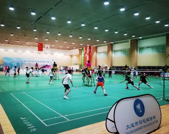 2021大连市民羽毛球健身大赛圆满落幕