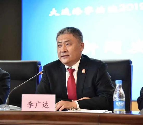 党组成员 政治部主任李广达主持发布会