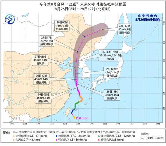 """台风""""巴威""""最新消息!"""