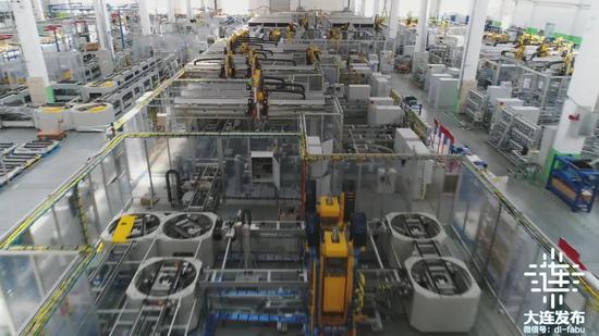 大连豪森设备制造股份有限公司电池模组和电池包装配线