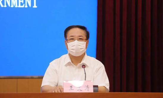 大连市市场监督管理局副局长 王文涛