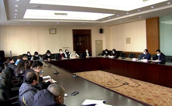 沙河口区召开区内大型商贸流通企业疫情防控常态化约谈会议
