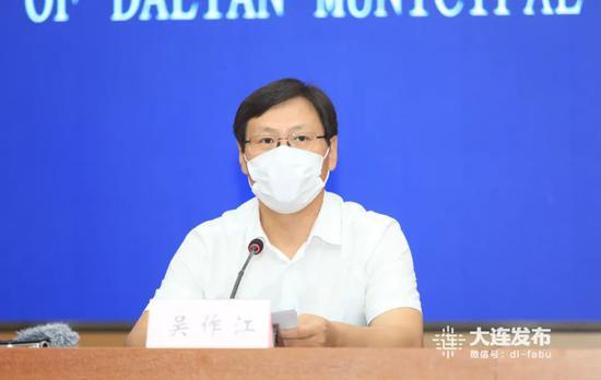 大连市委宣传部副部长、市新闻出版局(市版权局)局长吴作江