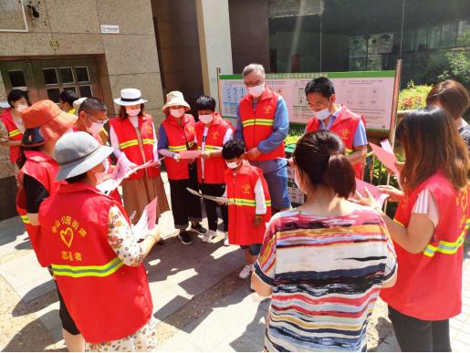 """天兴社区党委开展""""党建引领,绿色时尚""""垃圾分类主题活动"""