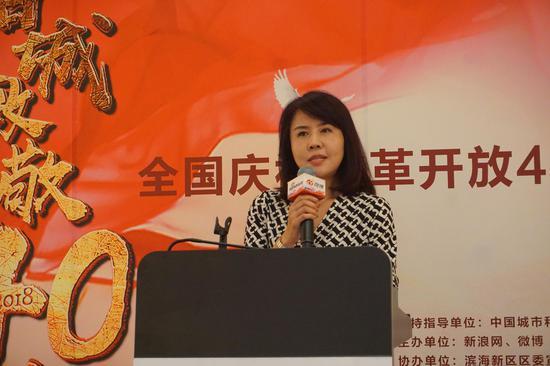 南京江北新区宣传部新闻宣传办主任王彤