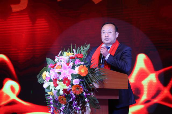 辽宁省工商联副主席胡桂涛讲话