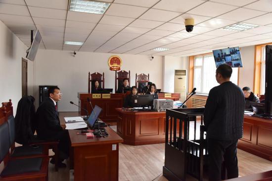 大连开发区法院首次通过远程庭审系统审理刑事案件