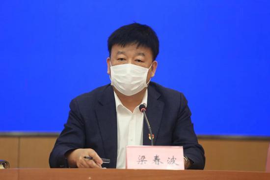 大连市城市管理局 局长梁春波