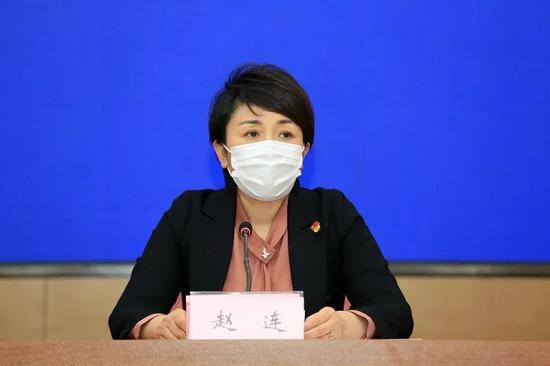 市防指办公室副主任、市卫生健康委副主任 赵连