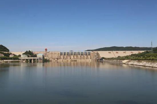 碧流河水库枢纽工程及水利风景区