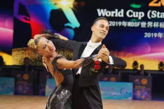"""体育舞蹈""""世界杯""""激情开赛 """""""